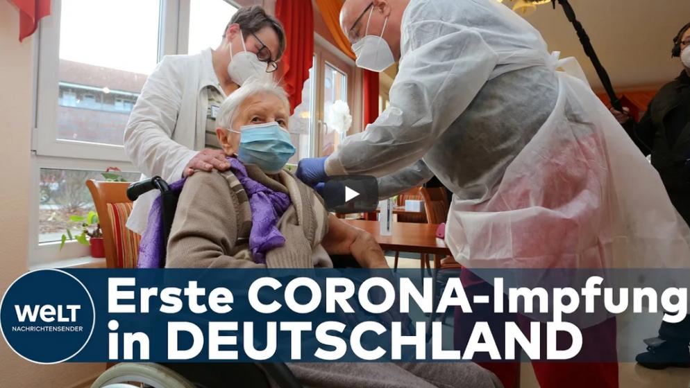 U NJEMAČKOJ 101-godišnja korisnica doma umirovljenika prva primila cjepivo