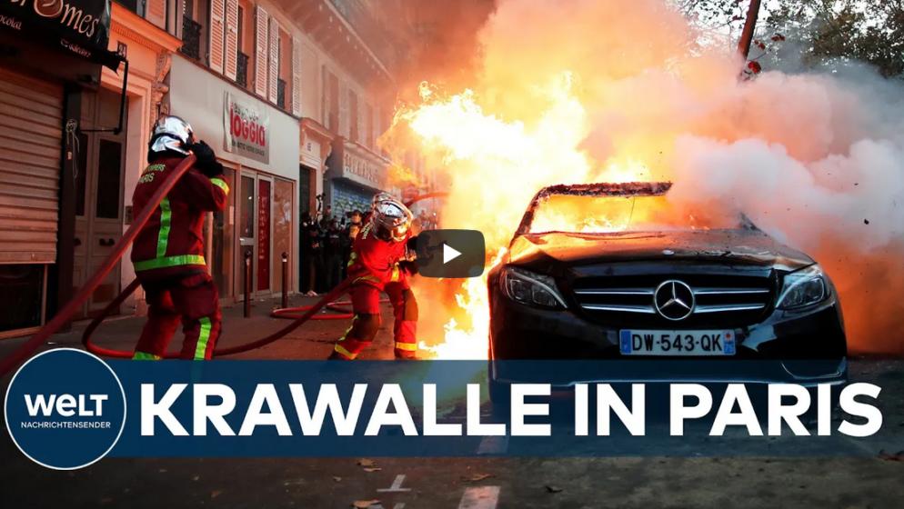 Prosvjedi u Parizu ponovno prerasli u nasilje, uhićeno 30 osoba