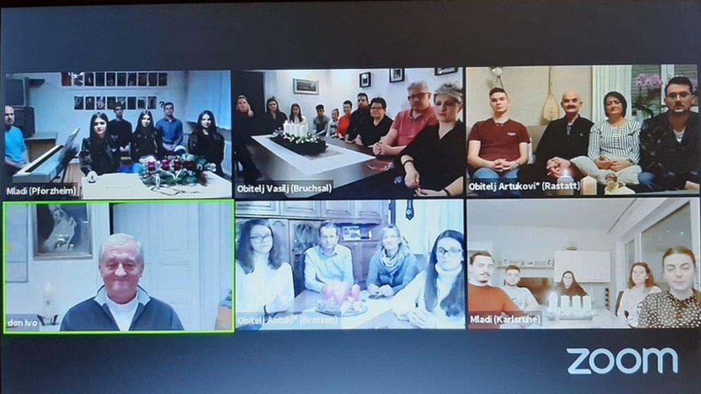 (VIDEO) Online krunica Hrvata u Njemačkoj u vrijeme došašća