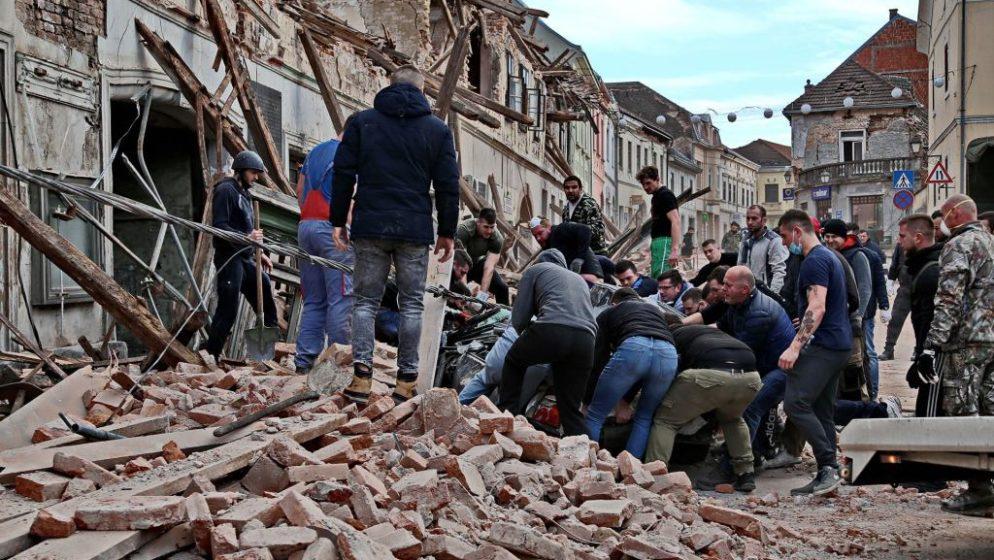 Hrvati u Srbiji za stradale od potresa u tri dana prikupili pola milijuna dinara