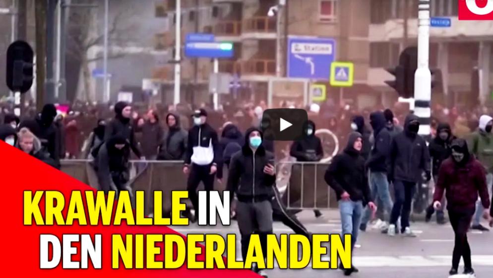 (VIDEO) Kaos u Nizozemskoj zbog policijskog sata