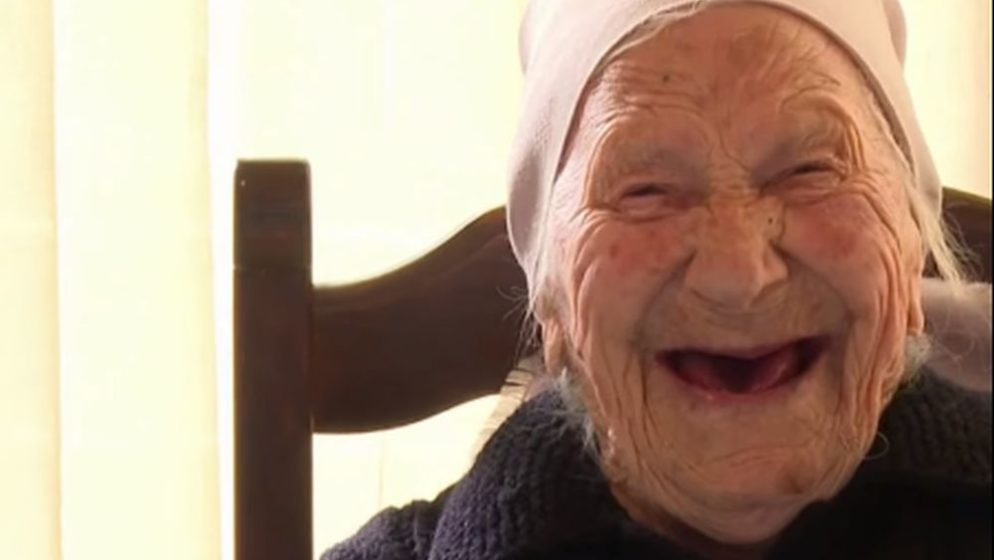 Nana Rita ima 105 godina, kod liječnika je bila jednom, a obitelj je dobila s 80 godina kada su je kao svoju primili  povratnici iz Amerike