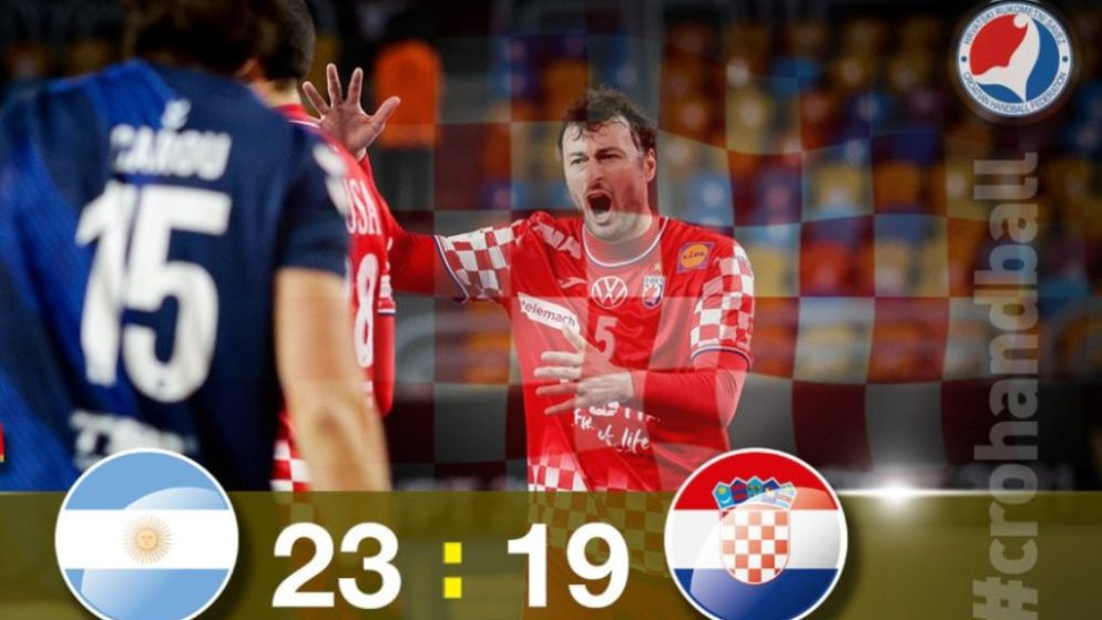 HRVATSKA – ARGENTINA 19:23 'Kauboji', glavu gore, četvrtfinale još nije izgubljeno