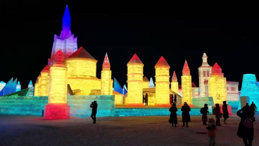 'Ledena' Dioklecijanova palača glavna atrakcija na svjetskom Festivalu snijega i leda u kineskom Harbinu