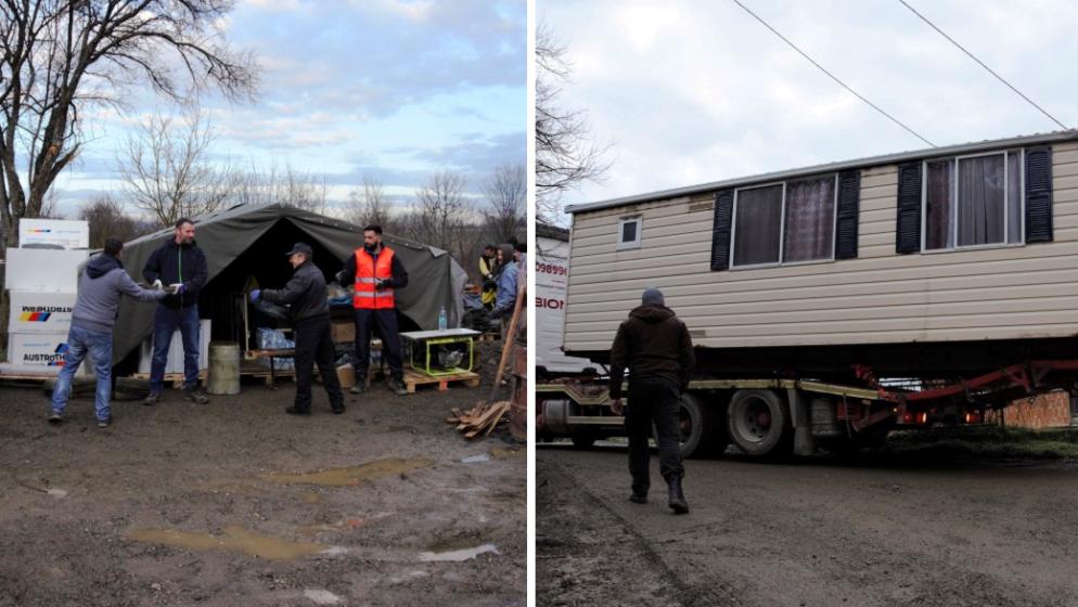 Udruženim snagama volonteri i političari pomažu petrinjskim selima da se priberu nakon potresa
