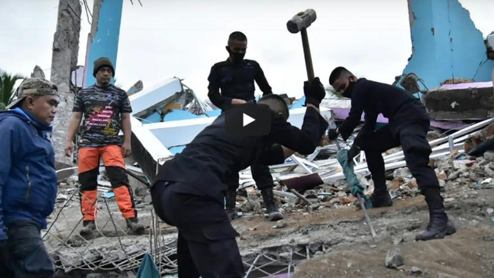 Potraga za žrtvama razornog potresa nastavlja se uz naknadna podrhtavanja