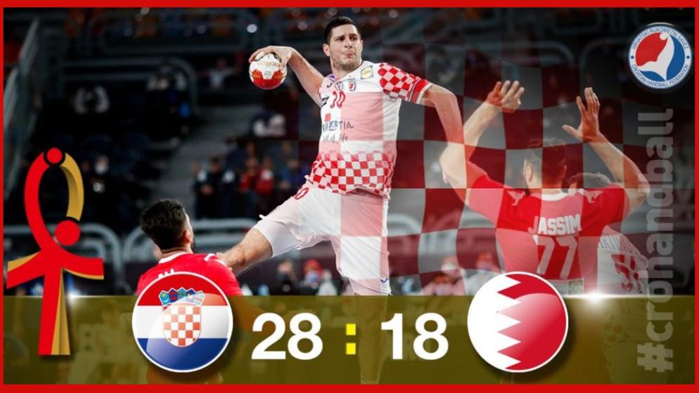 UVJERLJIVA POBJEDA HRVATSKE! 'Kauboji' na Svjetskom prvenstvu u Kairu svladali Bahrein 28-18