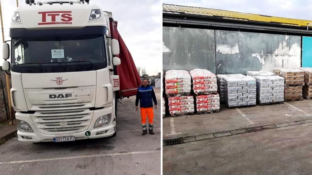 HRVATSKA KATOLIČKA ŽUPA IZ SALZBURGA JAVLJA: 'Otpremili smo četiri šlepera pomoći za stradale u potresu i uplatili 50 tisuća eura Hrvatskom Caritasu'