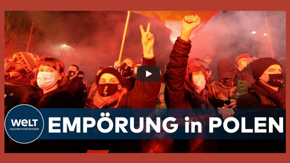 Tisuće prosvjednika na ulicama Poljske protiv gotovo potpune zabrane pobačaja