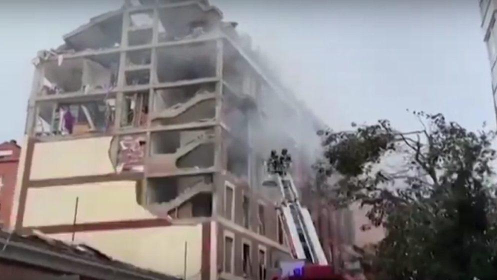 Posvećena hostija pronađena potpuno netaknuta nakon eksplozije u Madridu!