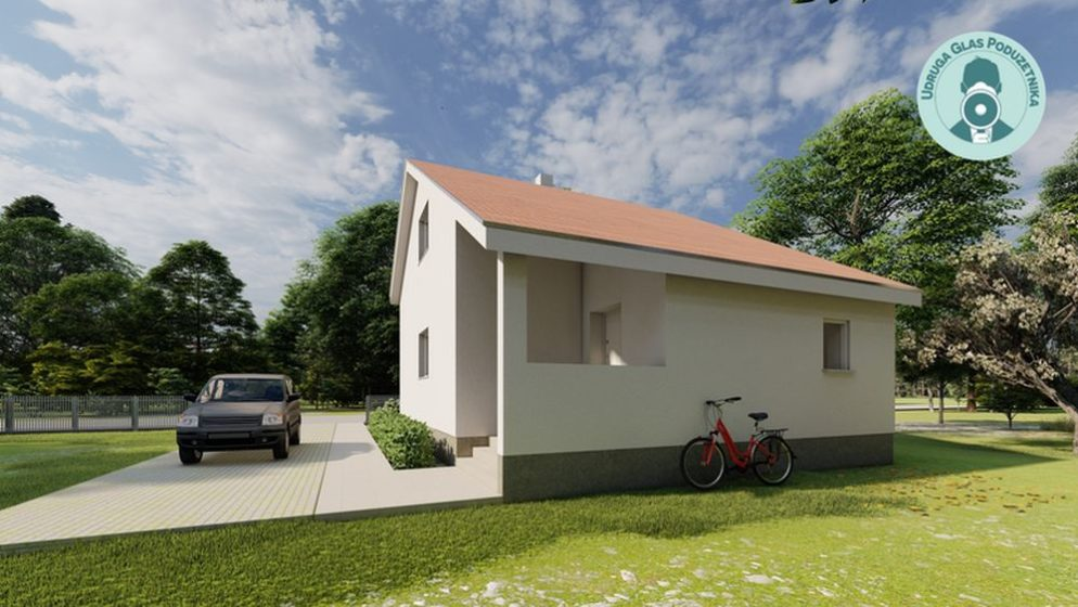 (FOTO) Ovako izgleda kuća otporna na potrese i misle je izgraditi za mjesec dana