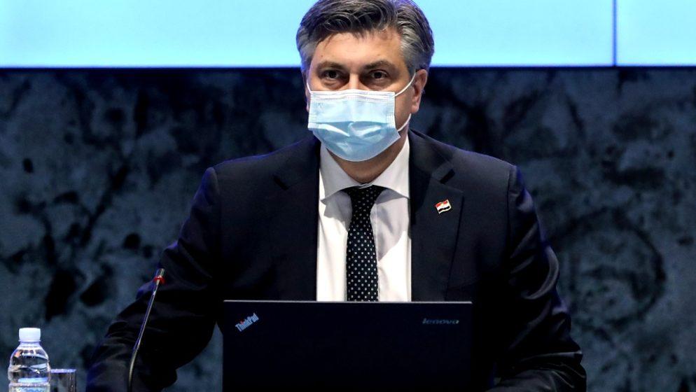 Plenković: 'Ako situacija bude dobra, idemo s popuštanjem mjera od 1. ožujka'