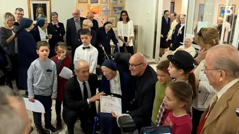 Najstarija redovnica u Europi preboljela Covid i proslavila 117. rođendan