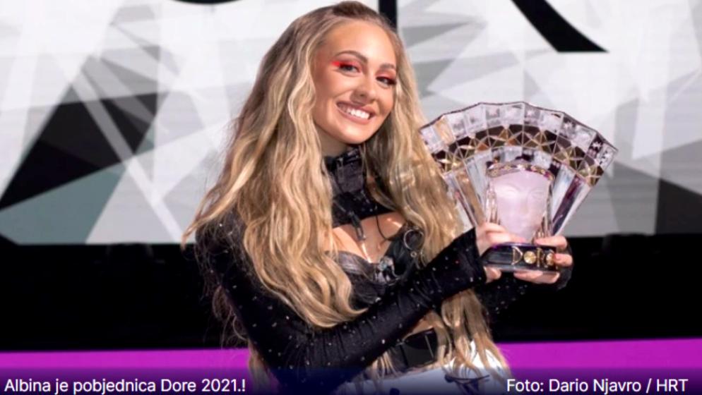 Splićanka Albina i 'Tick-Tock' idu na Eurosong! Kako vam se sviđa pobjednička pjesma?