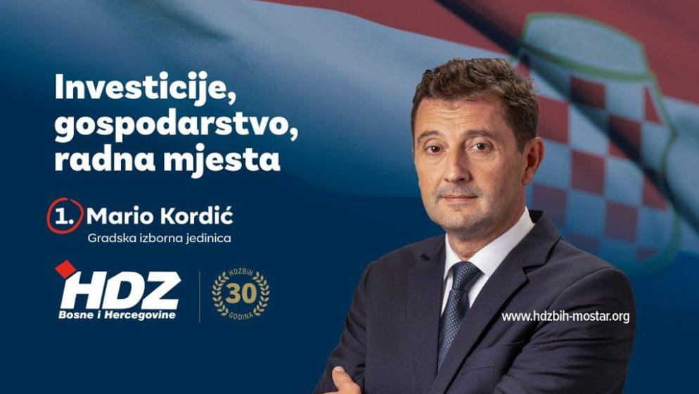 NAKON ČAK 12 GODINA BEZ IZBORA HDZ-ovac Mario Kordić izabran za gradonačelnika Mostara