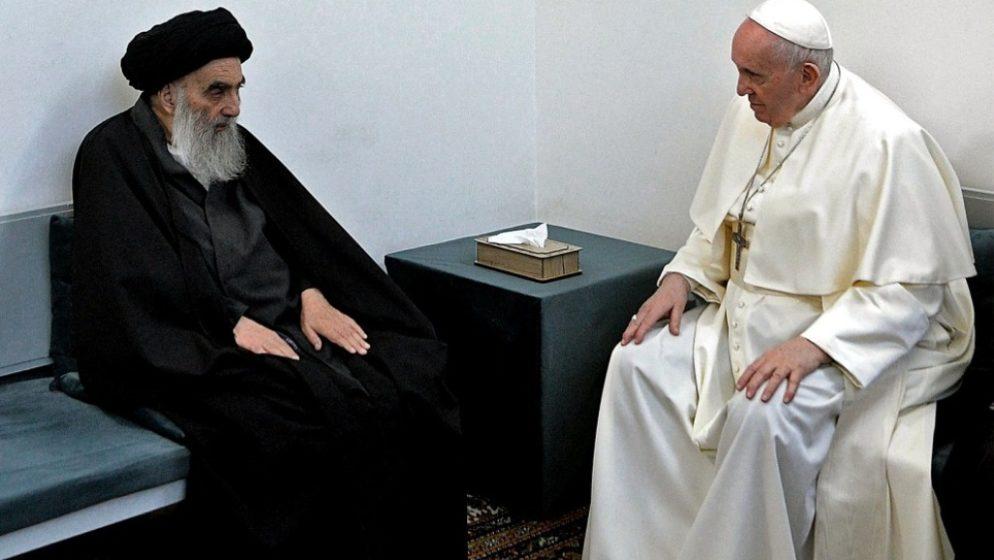 Povijesni susret pape Franje i šijitskog duhovnog vođe Sistanija