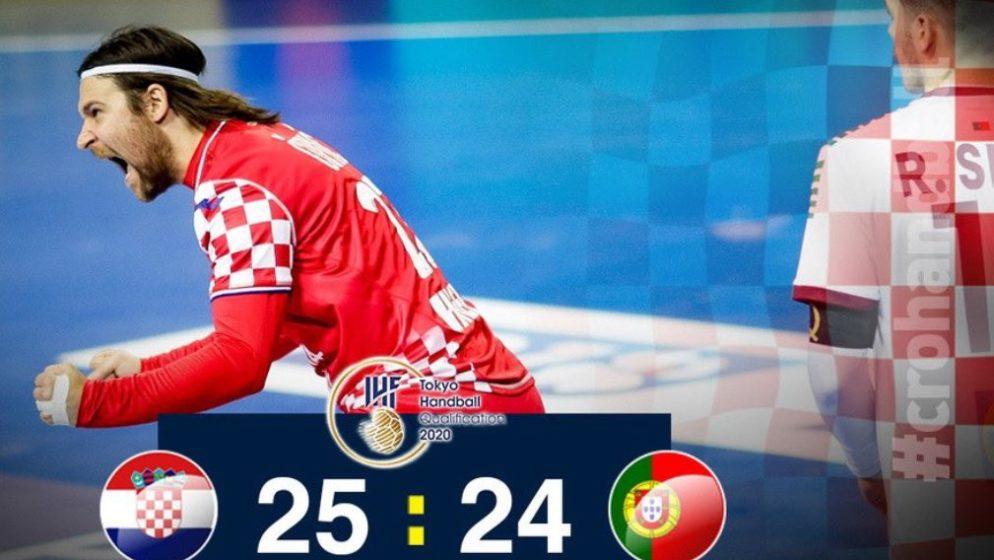 KONAČNO NEŠTO DOBRO! Hrvatski rukometaši slave protiv Portugala 25:24, izbornik Horvat: 'Ne možemo bez drame'