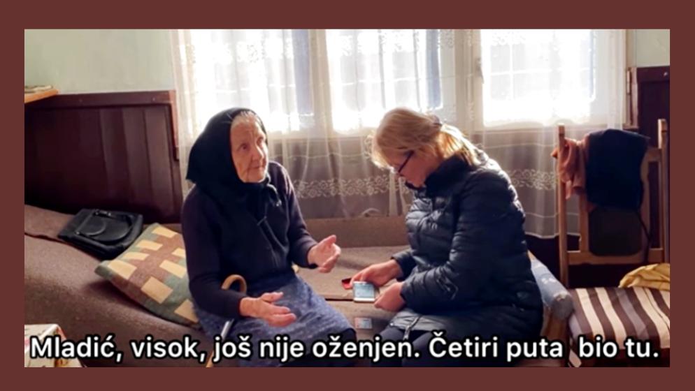 Prvi put u 85-toj godini baka Nada se potpisala uz pomoć 'visokog, zgodnog i još neoženjenog volontera'