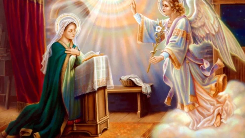 Blagovijest ili Navještenje Gospodinovo, svetkovina je koju slavimo 25. ožujka