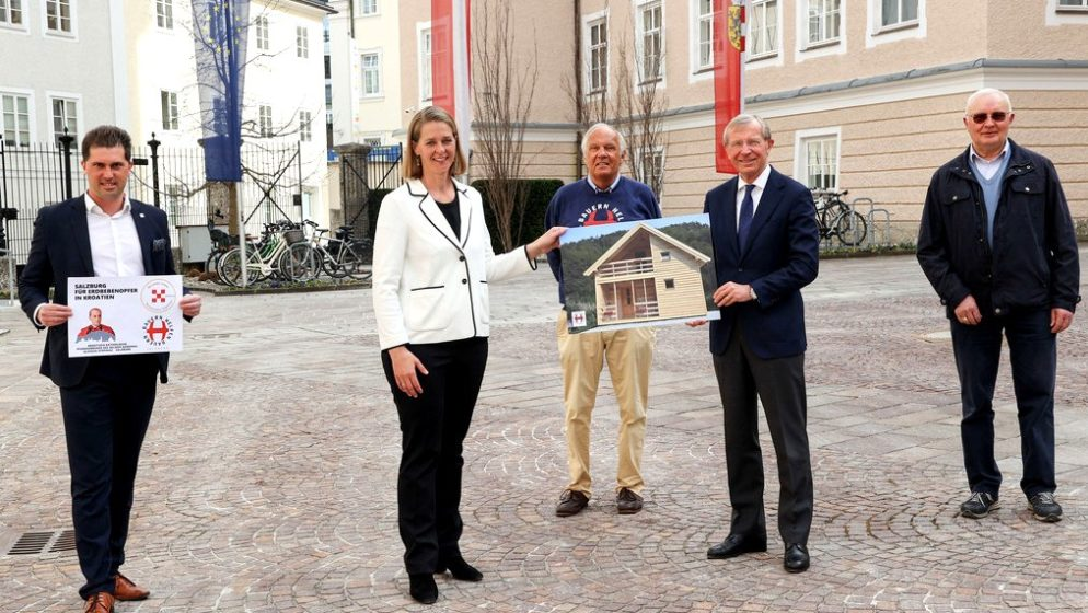 VIELEN DANK AN DAS LAND SALZBURG für die großartige Unterstützung von 78.000 EURO für die Erdbebenopfer in Kroatien!