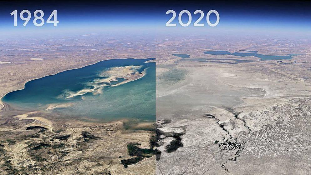 Nova Google Earth značajka prikazuje Zemljine promjene od 1984. godine