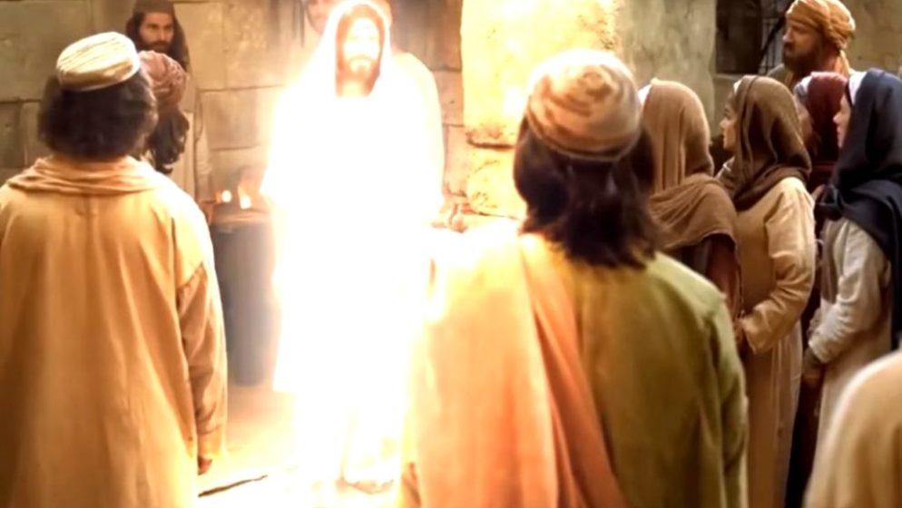Nakon osam dana dođe Isus, stane u sredinu i reče: 'Mir vama!'