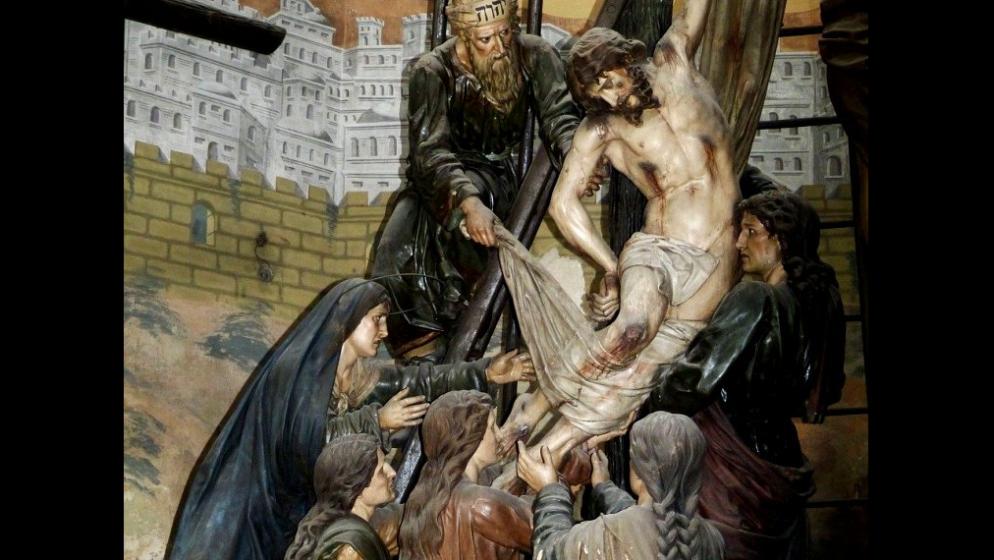 Petak je, Isus se moli, Petar spava, Juda izdaje, ali Nedjelja dolazi