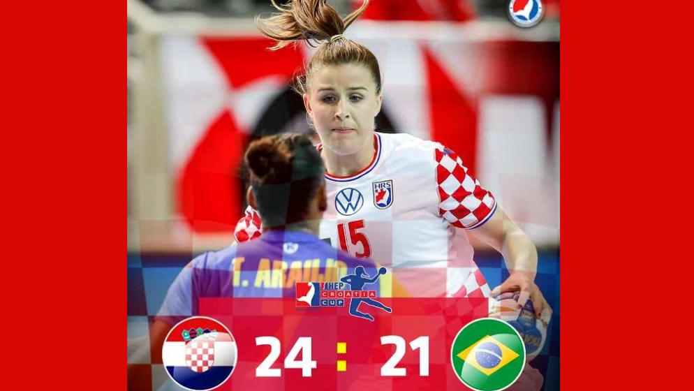 'Kraljice šoka' osvojile HEP Croatia Cup u Poreču pobjedom nad Brazilom