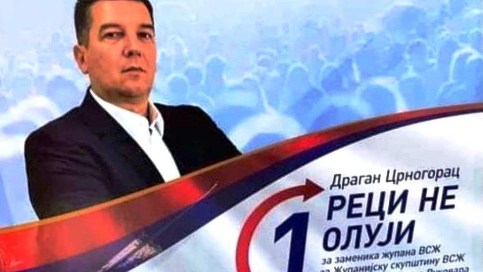 Crnogorac o predizbornom sloganu 'Reci ne Oluji!': Osjećam se diskriminirano