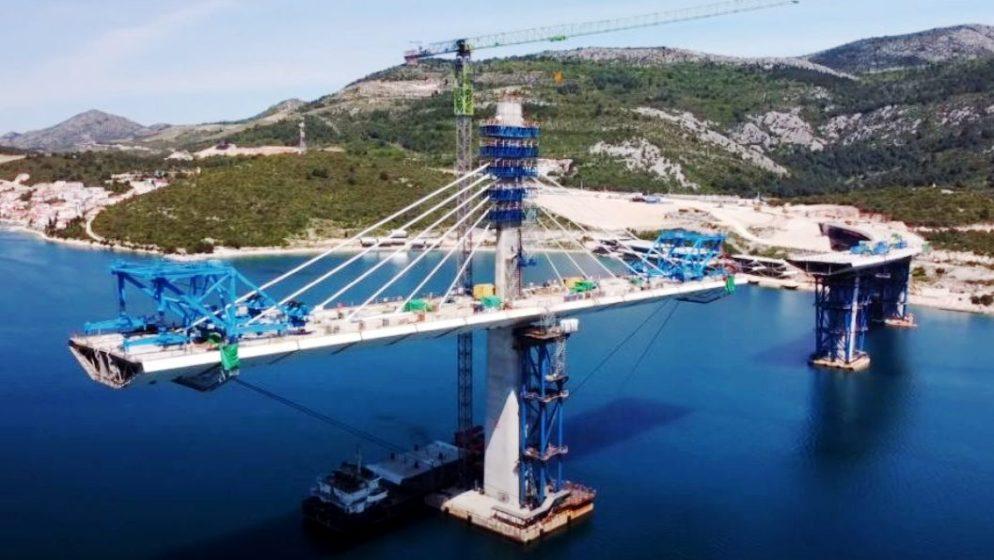 (VIDEO) SAMO ČETIRI MJESECA DO SPAJANJA: Ovako danas izgleda Pelješki most
