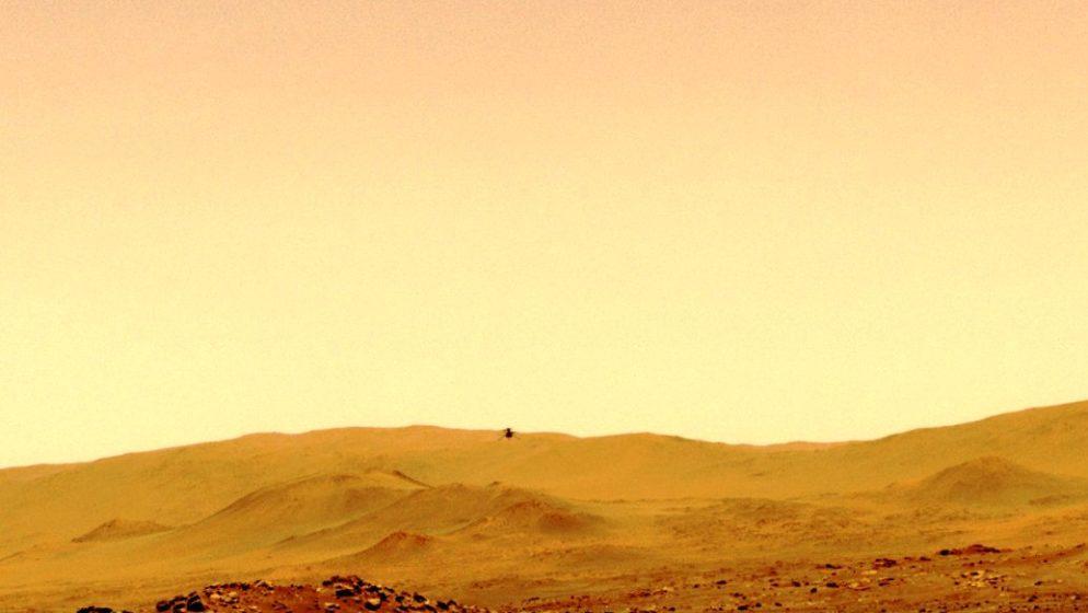 NASA objavila audio snimak leta mini helikoptera na Marsu