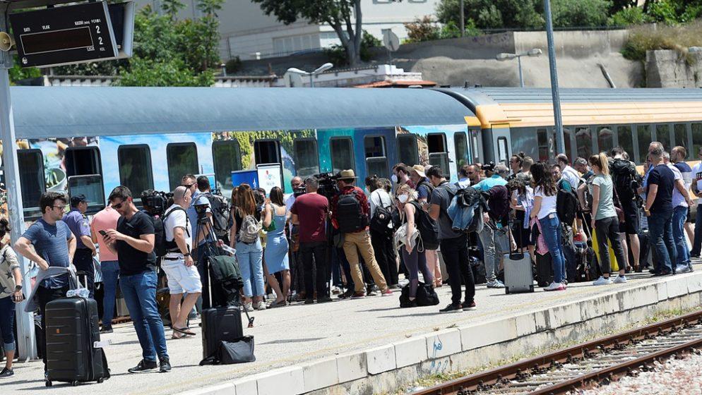 U Split vlakom stiglo više od 300 turista iz Češke, Slovačke i Mađarske