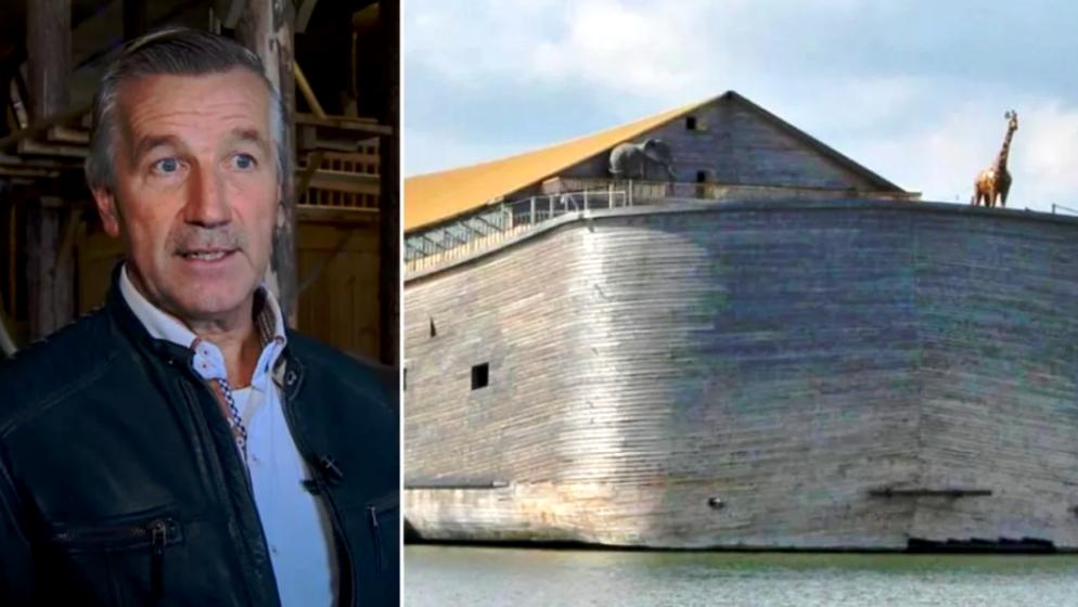 Nizozemski poduzetnik izgradio repliku Noine arke prema uputama iz Starog zavjeta