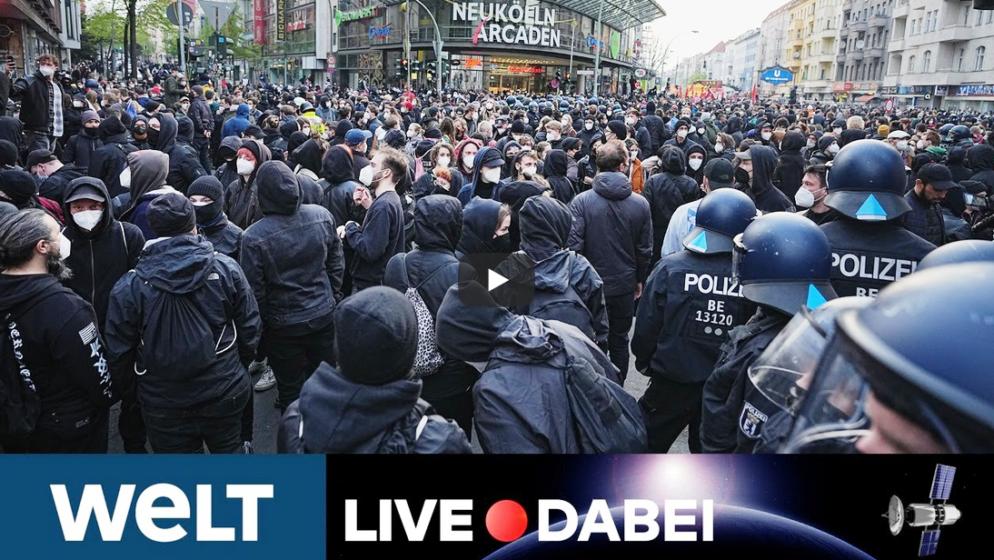 Žestoki sukobi policije i demonstanata u Berlinu, nekoliko uhićenih