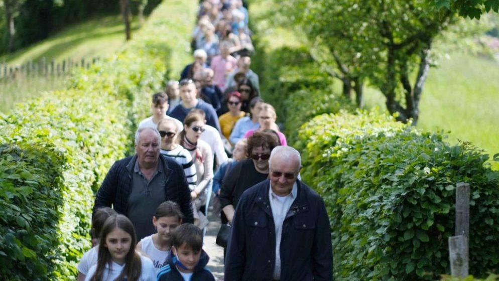 Hrvati iz Salzburga hodočastili u Gospino svetiše na brdo 'Maria Plain'