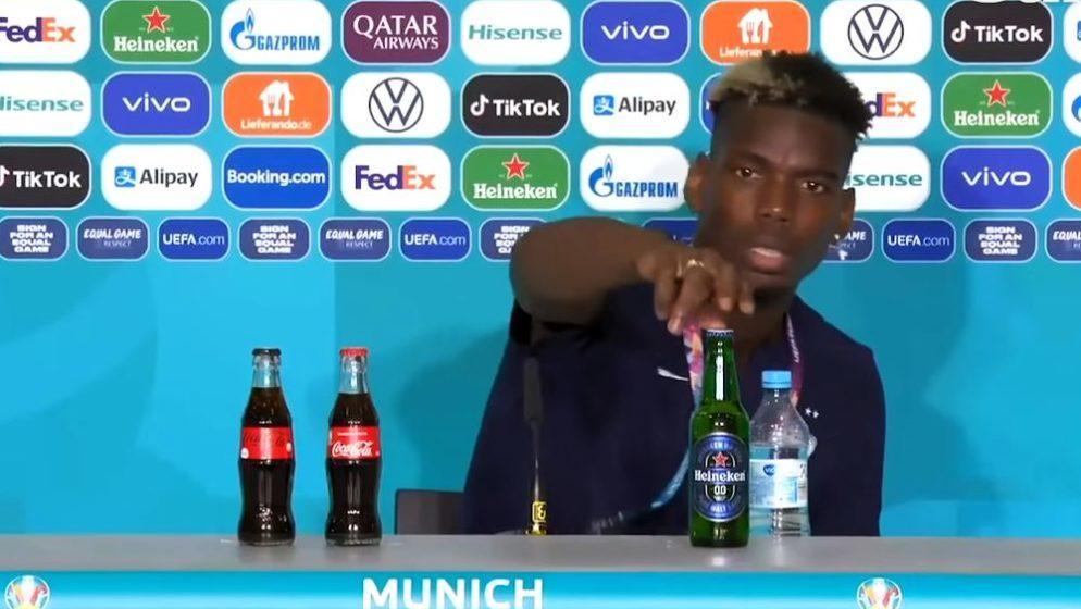 (VIDEO) Nakon Ronalda i Pogba uklonio bocu sa stola na konferenciji za novinare