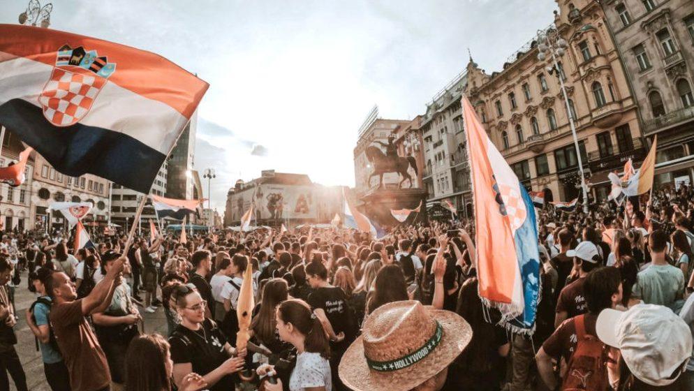 Gotovo 2000 mladih iz Hrvatske i iseljeništva sudjelovalo na 3. Antunovskom hodu u Zagrebu