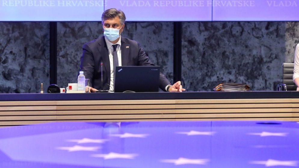 Plenković na Vladi upozorio: 'Pao je interes građana za cijepljenjem'