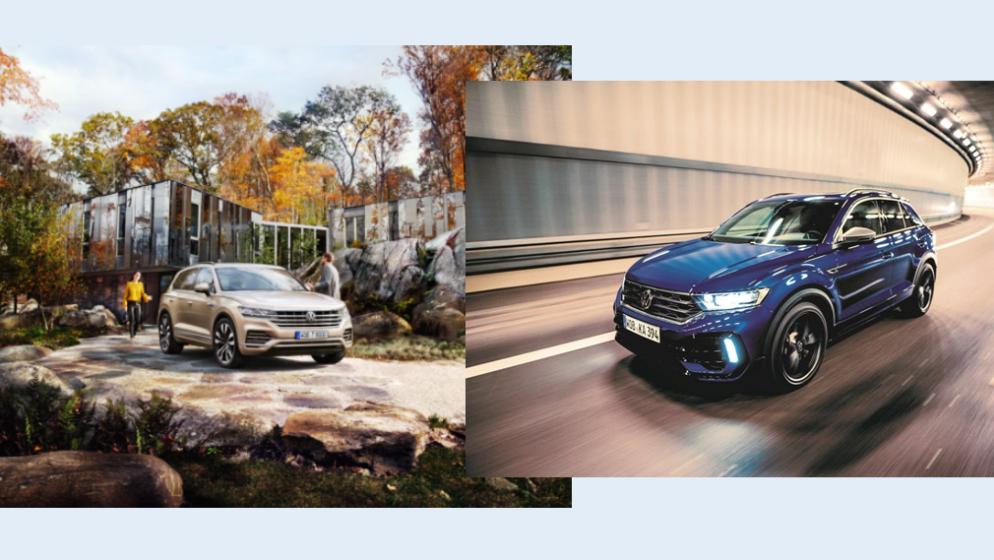 Posebna ponuda Volkswagena za poduzetnike: Novi Touareg i T-Roc R