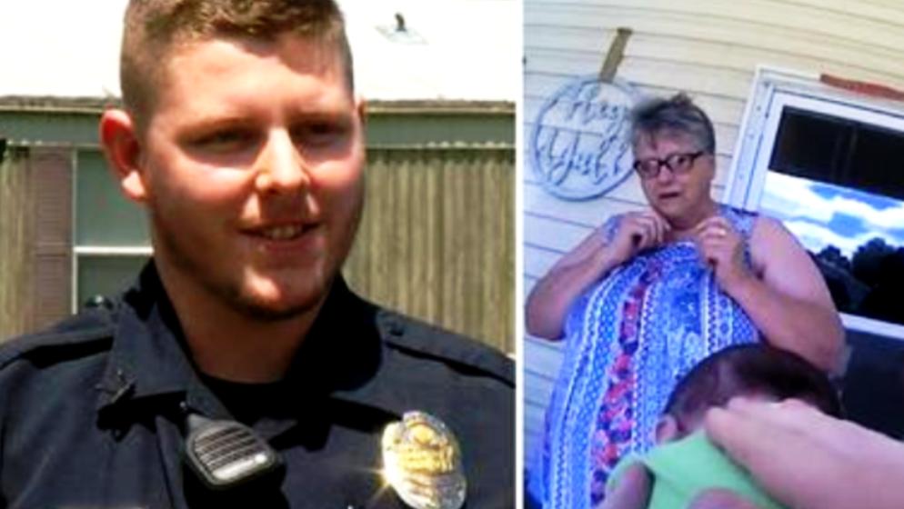 Znate li kako spasiti život? Američki policajac je to znao, lupio je bebu po leđima, ali onda se dogodilo ovo...