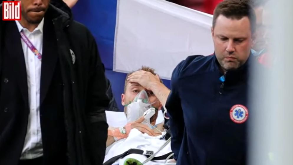 (VIDEO) Eriksen stabilno, Uefa odlučila da se utakmica nastavlja