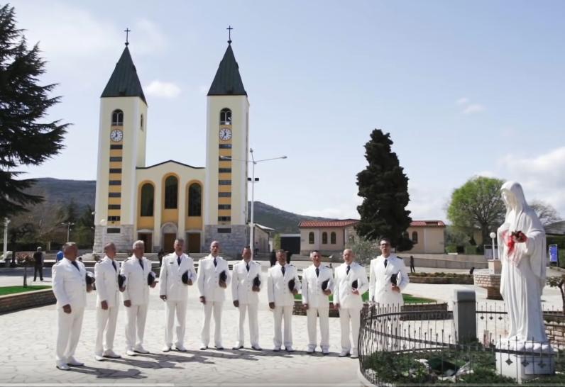 Klapa Sveti Juraj HRM posvetili pjesmu Gospi u Međugorju