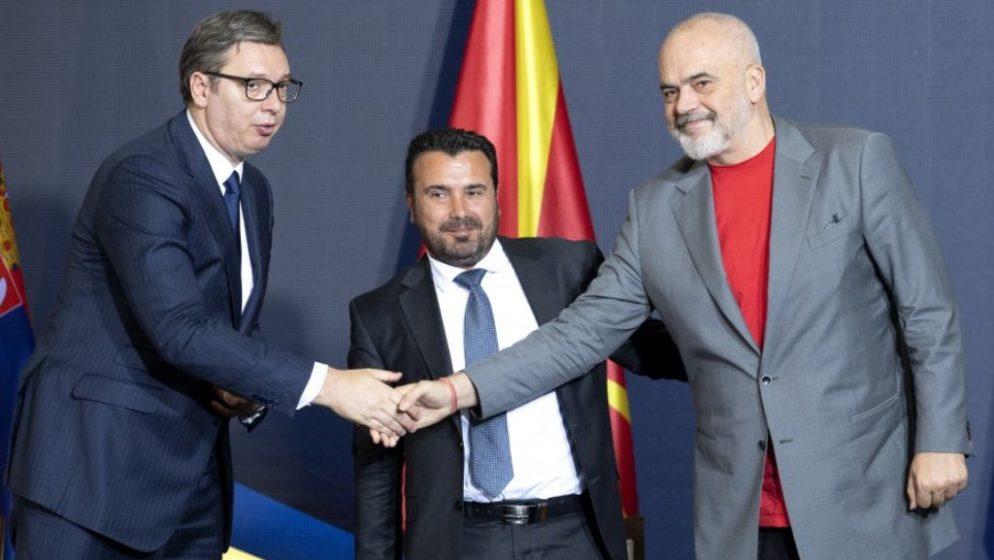 Srbija, S. Makedonija i Albanija stvaraju Otvoreni Balkan po uzoru na šengensku zonu