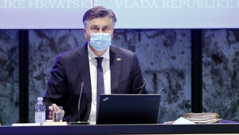 Plenković: Imamo osjetni porast novih slučajeva, uvodimo restrikcije za Jadran