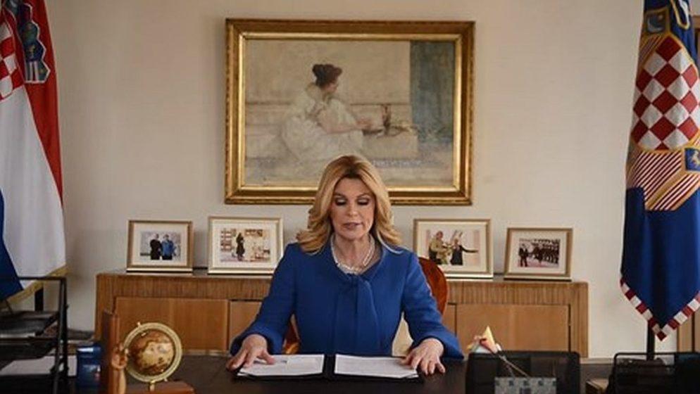Bivša predsjednica komentirala navode da je favoritkinja za čelnu poziciju NATO-a