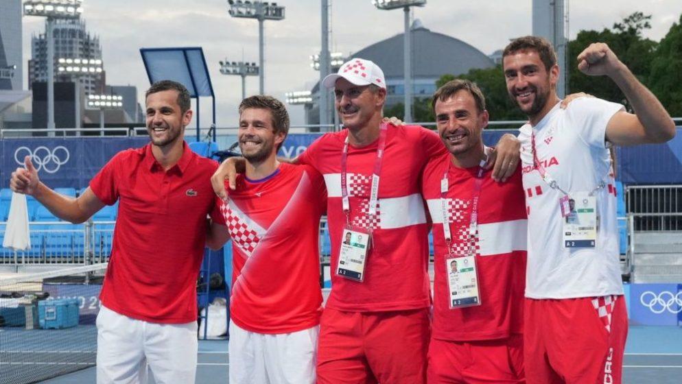 Naši tenisači ispisali povijest! Paviću i Mektiću olimpijsko zlato, Čiliću i Dodigu srebro!