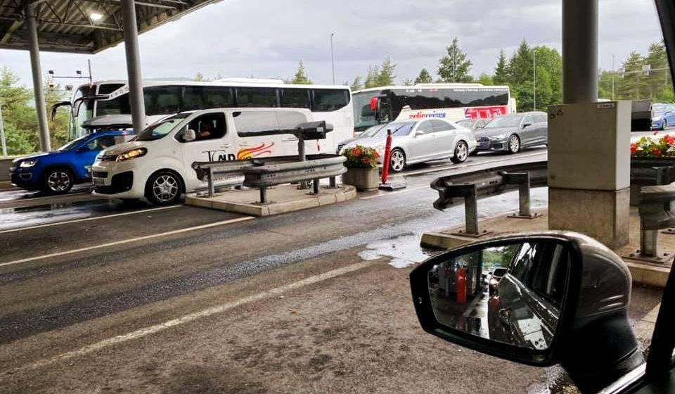 Pojačan promet na A2 i A3, prema graničnim prijelazima Macelj i Bregana