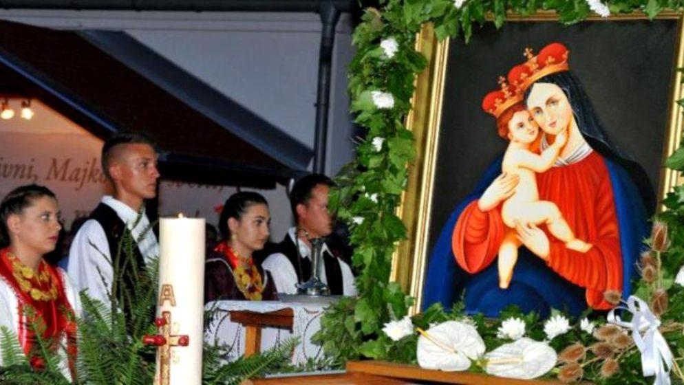 ČESTITAMO BLAGDAN VELIKE GOSPE - dan svetkovine Uznesenja Blažene Djevice Marije na nebo