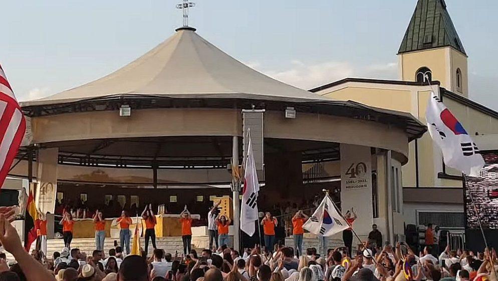IZ 60-TAK ZEMALJA: Tisuće mladih u Međugorju na 32. Mladifestu