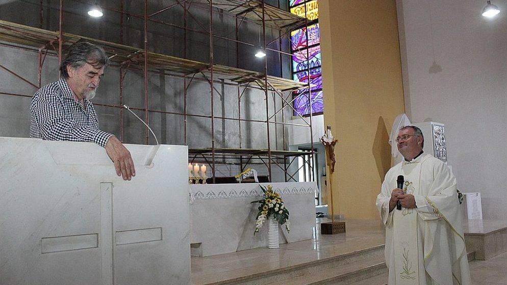 U Svetištu svetog Josipa predstavljen mozaik koji će krasiti oltar